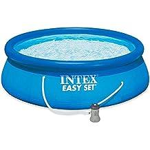 Intex - Piscina hinchable Intex easy set 244x76 cm - 2.419 litros - 28112NP