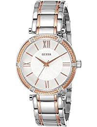 Guess Analog Silver Dial Women's Watch - W0636L1