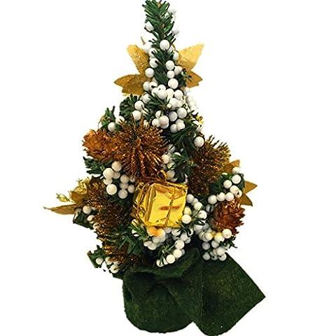 Xuanhemen Weihnachtsbaum Mini Weihnachtsbaum kann Platziert werden 0n Die Tabelle Windows Auto Weihnachtsdekoration 20CM hoch