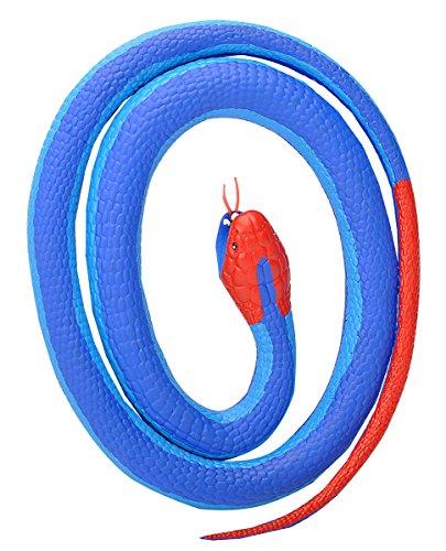 Wild Republic 20779 Gummischlange Blaue Otter 117 cm