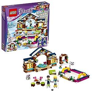 LEGO- Friends Pista di Pattinaggio del Villaggio Invernale Costruzioni Piccole Gioco, Multicolore, 41322 5702015866545 LEGO