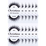 12packs Eyelashes - 47 by Christina