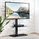 FITUEYES Meuble Télé Pied Support Pivotant pour TV Ecran de 32 à 50 Pouces LED LCD...
