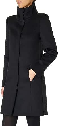 PATRIZIA PEPE Cappotto Donna in Panno di Lana con Collo Alto