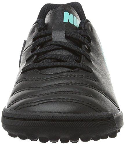Nike Jr Tiempox Rio Iii Tg, Scarpe da Calcio Bambino Nero (Black/Black)
