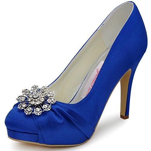 Elegantpark ,  Scarpe col tacco donna Blu