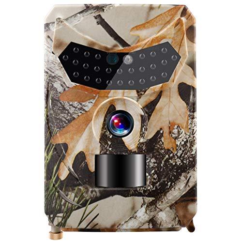 WenYOUNG Trail Kamera 1080P Infrarot LED Jagdkamera Wasserdicht 120° Winkel Wildkamera One Size Wie gezeigt2