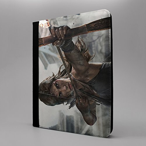 tomb-raider-tablet-flip-case-cover-for-apple-ipad-pro-129-flamed-arrows-s-t2285