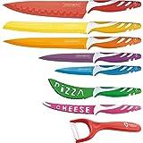 Royalty Line Set de 7 Couteaux + 1 Eplucheur céramique