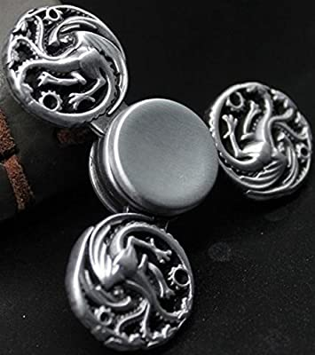 Game of Thrones Silver Spinner Metal Anti Stress Toy