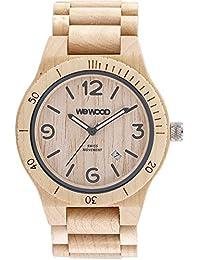 WeWood Herren-Holzuhr Alpha SW Beige WW08006