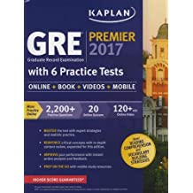 GRE Premier 2017 with 6 Practice Tests: Online + Book + Videos + Mobile