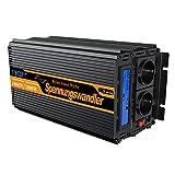 Convertisseur pur sinus 12v 220v onduleur 1000w ecran LCD transformateur de tension...