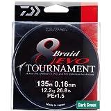 Daiwa Tournament 8 Braid EVO 0.16mm, 12,2kg/26,8lbs 300m multicolour