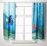 AG Design FCS xl 4320 - Tende per camera bambini, motivo Nemo Disney