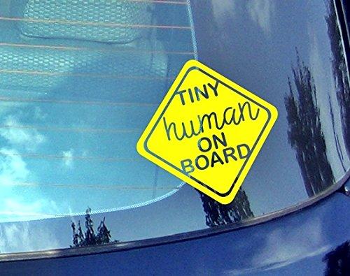 Preisvergleich Produktbild Tiny Echthaar On BoardBaby an Bord Auto Aufkleber Drift Bumper Window Auto Funny Vinyl Van Laptop Love Herz Decor Home Live Kids Funny Art Wand Aufkleber Aufkleber