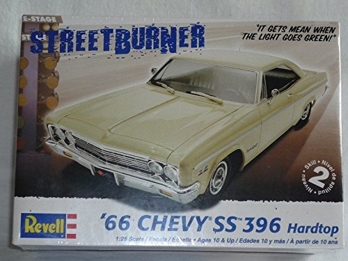 Chevrolet Chevy Ss 396 1966 Hardtop Coupe 85-4250 Bausatz Kit 1/24 1/24 Revell Usa Modellauto Modell Auto (Modell Chevy-kits)