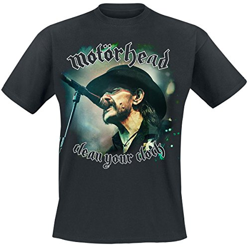 Motörhead Clean Your Clock - Cover T-Shirt nero S