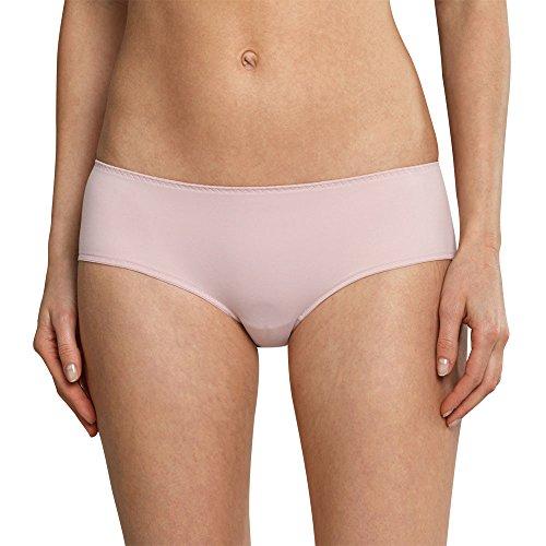 Schiesser Damen Panties Mix & Relax Panty Rot (Rosé 506), 40 (Rosen Hipster)