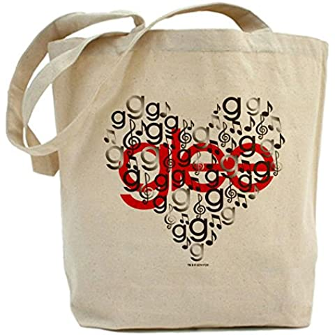 CafePress – Glee – Cuore Tote Bag - Cuore Canvas Tote