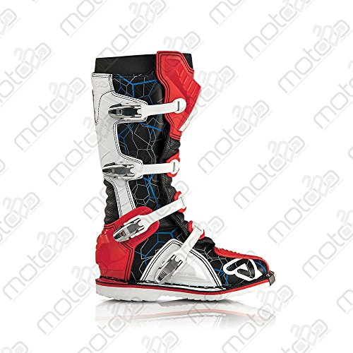 Acerbis Motocross Stiefel X-Pro V. rot weiss Gr. 44