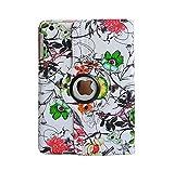 inShang Coque iPad Mini 3 Mini 2 Mini 1 Housse Étui Case iPad Mini Cover avec Support Fonction et Veille/Réveil AutomatiqueTablette, Rotatif 360 degre Stylus