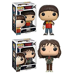 Funko Pop Pack Stranger Things Will y Joyce Funko Pop Stranger Things