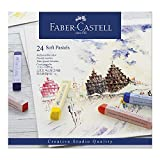 Faber-Castell 128324 - Softpastellkreide studio quality, 24er Etui