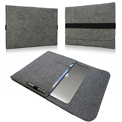 Custodia NAUC Laptop Sleeve Per Borsa per Tablet Macbook Netbook Ultrabook Laptop Case mi due aggiunta scomparti per accessori compatibile con ad esempio Samsung Apple, Asus, Medion Lenovo ecc. interne in diversi colori.
