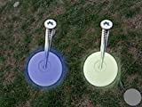 FLUO Fluoreszierende Markierungskappen für Wabenmatten System oder Kies (blau)