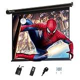 Display4top elettrico 60'Schermo Proiettore Schermo di Proiezione 4: 3 portatile pieghevole per home theater cinema schermo esterno per schermo cinematografico, schermo: 120 cm (L) x 90 cm (H)