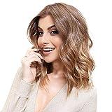 Mode Féminine Cheveux Synthétiques Longues Perruques Vague Frisée Eaylis Chic Grosse Vague Rose Intranet Filet Intérieur En Dentelle