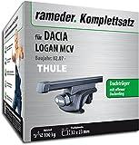 Rameder Komplettsatz, Dachträger SquareBar für Dacia Logan MCV (115966-05620-42)
