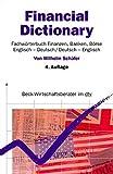 Financial Dictionary. Fachwörterbuch Finanzen