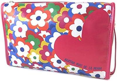 Kit de aseo personal 'Agatha Ruiz De La Prada'fuschia multicolor - 31x19x9 cm.