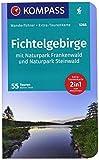 Fichtelgebirge mit Naturpark Frankenwald und Naturpark Steinwald: Wanderführer mit Extra-Tourenkarte 1:65000, 55Touren, GPX-Daten zum Download. (KOMPASS-Wanderführer, Band 5268) - Walter Theil