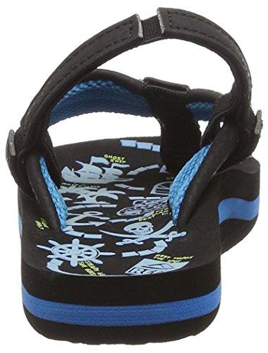 Reef Ahi Glow, Flip-Flop Garçon Bleu (Blue Glow)