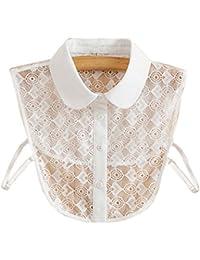 Trendy Détachable Lace Collar Fake Collier Tout-Match Fake Half Shirt Vêtements Accessoires pour Femmes, # 10