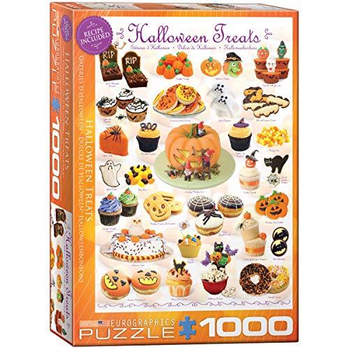 Eurographics Süßigkeiten zu Halloween - 1000 Teile Hochformat Puzzle - Sweet Line