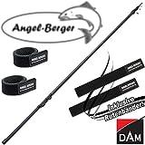 DAM Adjusta Tele Trout Forellenrute 3,80m 10-30g mit Angel Berger Rutenband