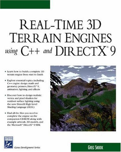 Real-time 3D Terrain Engines Using C++ and DirectX (Charles River Media Game Development) by Greg Snook (1-Jun-2003) Paperback par Greg Snook