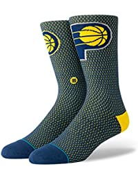 3c00629a1ae Stance NBA Indiana Pacers Everyday Light Cushion Jersey Chaussettes Homme  Bleu