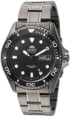 Orient Herren Uhr analog Automatik mit Edelstahl Armband FAA02003B9