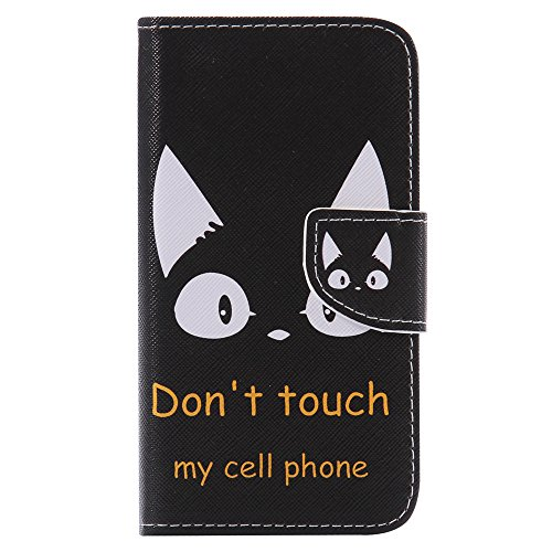Nancen Compatible with Handyhülle Nokia Microsoft Lumia 640 / N640 Handy Lederhülle, Flip Case Wallet Cover with Stand Function, Folio Bookstyle Handytasche