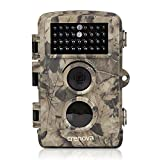 Crenova Wildkamera 8MP 720P Jagdkamera Low Glow 34 Stück 850nm IR-LEDs 20m Erfassungsreichweite Wasserdichtes IP56 Design 1 Jahr Gewährleistung