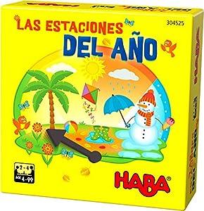 HABA- Juego de Mesa, Las Estaciones del Año, Multicolor (Habermass H304525)