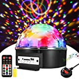 Disco Lights Ball SOLMORE LED Disco Ball Party Stage Lights | 9 Colors