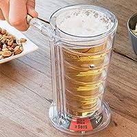 N'oubliez pas de vous équiper de cette chope à bière originale lors de vos soirées entre potes. Elle vous fera chanter, boire beaucoup de canons, faire des blagues, faire des pompes. Bref, elle saura animer l'ambiance ! - * Dimensions : 10 x 18,5 cm ...