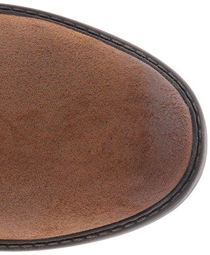Clarks Swansea Ort Tall Boot Bronze/Brown Metallic Suede