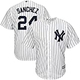 Rücken Name & Nummer Baseball Jersey, Herren & Damen & Jugend MLB Base Player Placket Jersey